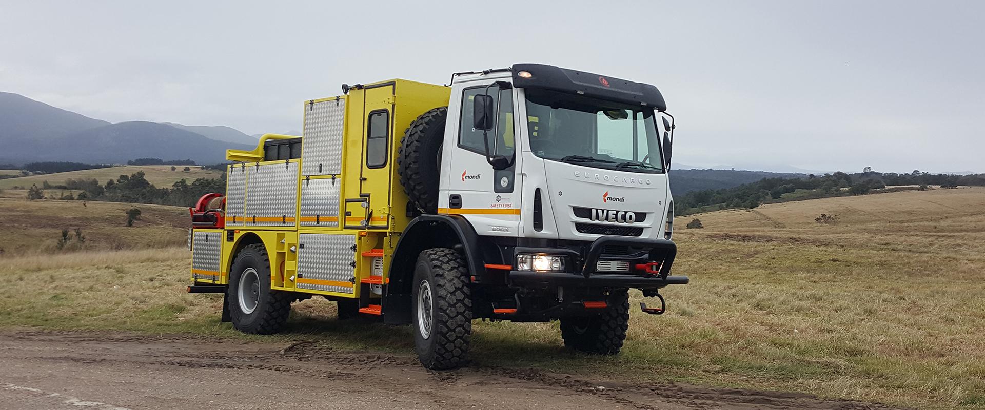 novelcnc fire truck